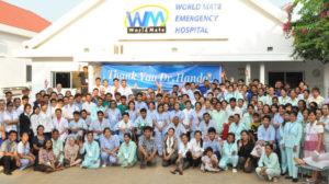 カンボジアにおける、ワールドメイトの医療福祉活動「ワールドメイト救急病院とシアヌーク病院」